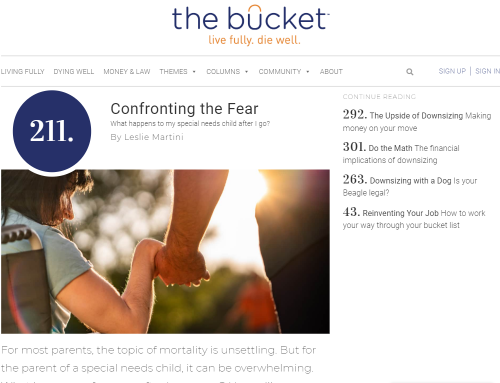 Confronting the Fear